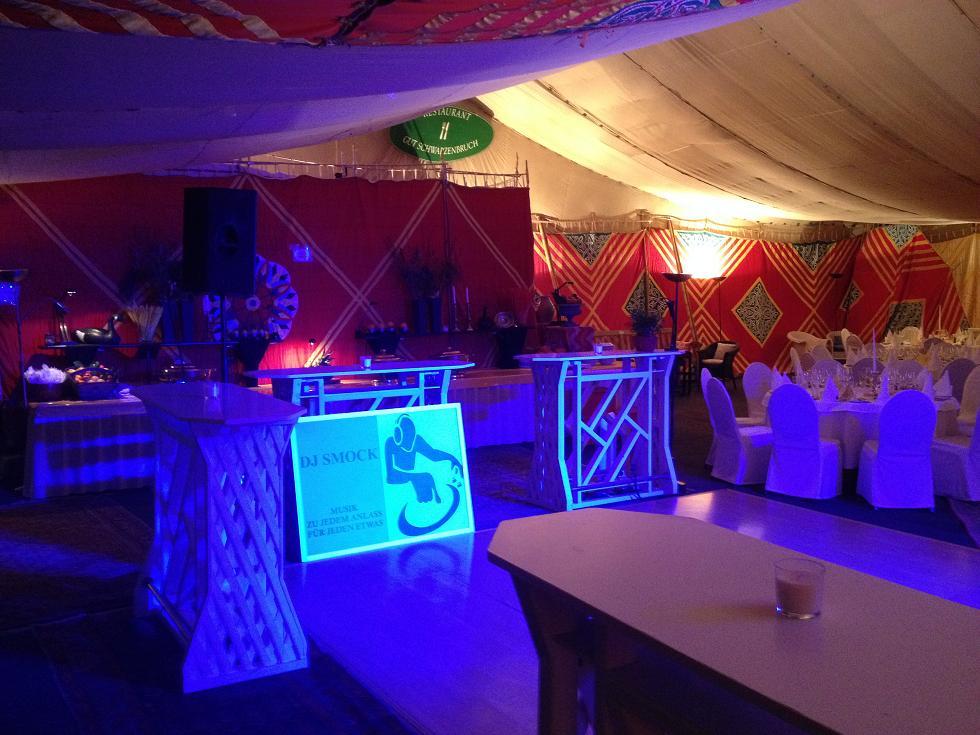 Hochzeits DJ Smock auf Gut Schwarzenbruch in Stolberg