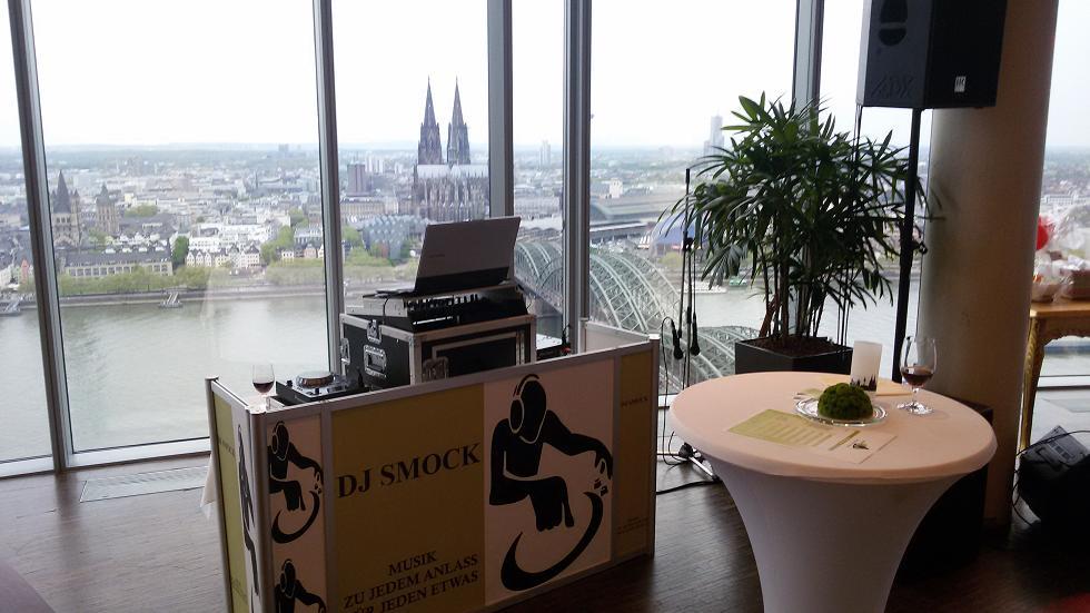 Hochzeits DJ Smock im Köln Sky